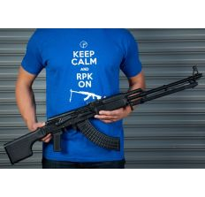 FIME Group T-Shirt Royal Blue Keep Calm And RPK On - Large