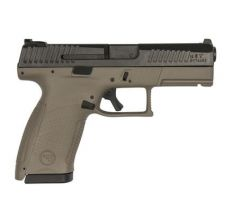 CZ P-10 Compact FDE 9mm Pistol 3.8'' barrel (2) 10rd mags Tritium Night Sights