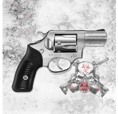 """RUGER SP101 .357MAG 2.25"""" FS STAINLESS STEEL RUBBER"""