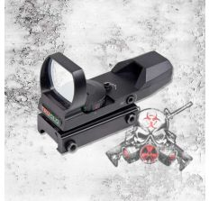 TRUGLO OPEN RED & Green DOT DUAL COLOR BLACK