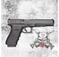 GLOCK 40 GEN4 MOS 10MM Pistol (3) 15rd mags 6.02'' barrel Adj. Sights PG4030103MOS