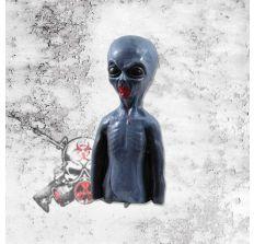 Zombie Target Full Size Torso - The Gray Zombie (Alien) - BLEEDING Target - bleeds pink Alien blood!