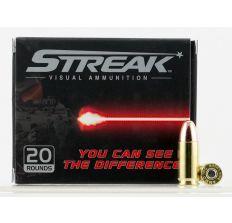 Ammo INC. Streak 9mm 147gr Red Tracer 20/box