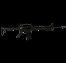 """Silver Eagle SE122 Tactical Semi-Auto Shotgun 12ga 20"""" w/ Rail and Muzzle Brake Matte Black"""