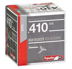 "Aguila .410 Birdshot 3"" 7-1/2 Shot - 25rd Box"
