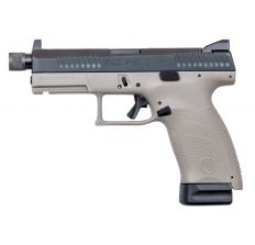 CZ P-10C 15rd Threaded Barrel Suppressor Ready Urban Gray Suppressor Height Night Sights