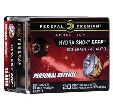 Federal P45HSD1 .45ACP 210gr Hydra-Shok Deep - 20rd Box