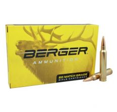 Berger Ammo 6mm Creedmoor 95gr Classic Hunter Match Grade - 20rd Box