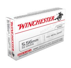 Winchester Ammo 5.56 M193 55gr FMJ - 1000rd CASE