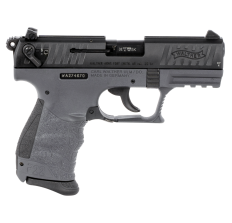 """Walther Arms P22 CA Pistol .22LR 3.42"""" 10rd - Tungsten Gray"""
