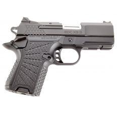 "Wilson Combat EDC X9S Subcompact 9mm 3.25"" Slide (1) 10rd/15rd Ambi Safety Lightrail - Black Armor-Tuff"