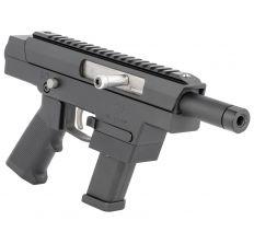 "Excel Arms X-9P Pistol 9mm 4"" Threaded Barrel (1) 17rd Glock Style Magazine - Black"