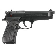 """Beretta 92FS Pistol 9mm 4.9"""" 10rd CA Compliant - Black"""