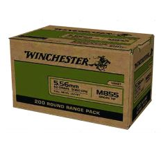Winchester Ammo 5.56 M855 62gr FMJ - 200rd