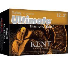 "Kent Ultimate Turkey Diamond Shot 12ga 3"" 5 Shot - 10rd Box"