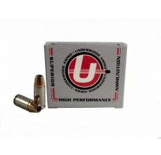 Underwood Ammo 9mm Luger Handgun Ammo - 147 Grain | +P | XTP Jacketed Hollow Point