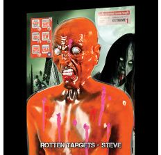 Zombie Target Full Size Torso - Steve Rotten Zombie - Bleeds pink zombie blood when shot!!