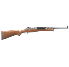 """Ruger 5802 Mini-14 Ranch 5.56x45mm NATO 18.5"""" 5rd Matte Stainless Barrel Wood Stock"""