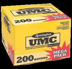 Remington UMC Ammo .223Rem 45gr JHP - 200rd Box