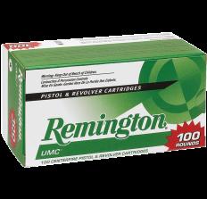 Remington UMC .38SPL +P 125gr SJHP - 100rds