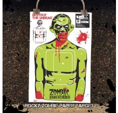 """Rocky Zombie 18x24"""" Indoor Paper Target"""