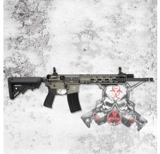 """BCM Hsp The Jack 5.56NATO AR15 rifle 14.5"""" Barrel with pinned brake GRAY (1) 30rd mag 790-JACK-01"""
