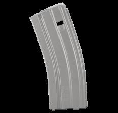 C Products Defense 30rd Aluminum AR 5.56 Magazine Grey Follower