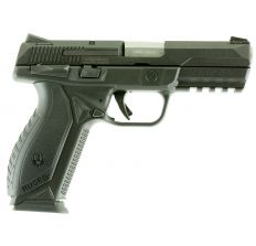 """Ruger American Pistol 9mm 4.2"""" 17rd Safety - SS/ Black"""