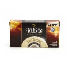 Federal HST LE 40S&W Ammo 165 Grain Jacketed Hollow Point 50rd box