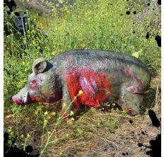 Wilbur Zombie Pig bleeding zombie target