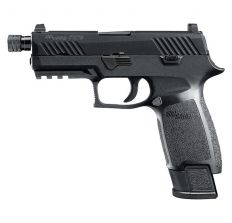 "Sig Sauer P320 Carry TACOPS 9mm 4.6"" Threaded Barrel 21 rd Black"