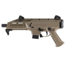 CZ SCORPION EVO 3 S1 9MM 10RD FDE 1/2x28