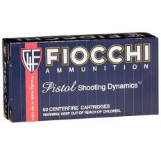 Fiocchi 9mm 115gr Jacketed Hollow Point 50rd