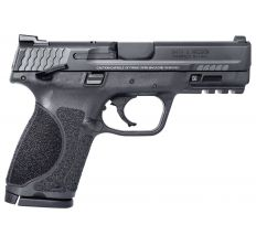 """Smith & Wesson 11686 M&P 9 M2.0 Compact 9mm Luger 4"""" 15+1 Black Armornite Stainless Steel, Interchangeable Backstrap Grip"""