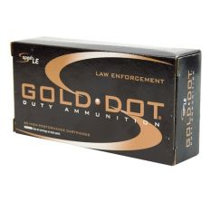 CCI Speer Gold Dot 40 S&W 165gr GDHP Hollow Point 50rd Box LE Duty Ammunition