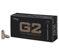 CCI/SPEER LE G2 DUTY 9MM 147GR JACKETED HOLLOW POINT 50RD/BOX