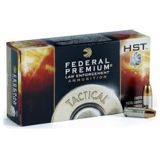 Federal Premium HST LE .45 ACP AUTO Ammo 230gr +P HST Jacketed Hollow Point LE 50 Rounds