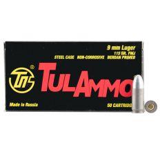Tula 9mm Luger 115gr FMJ 1000rd Case