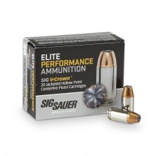 SIG SAUER 9MM 124GR JHP JACKETED HOLLOW POINTS -200RD CASE
