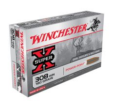 Winchester X-Super Ammo .308 Win 180gr Power-Point - 20rd Box