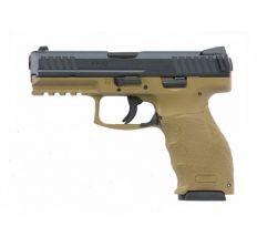 """Heckler & Koch HK VP9 FDE 9mm Pistol 4.09"""" barrel with Night Sights (3) 10rd mags 700009FDELEL-A5"""