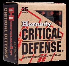 Hornady Critical Defense .38SPL +P 110gr FTX - 25rd Box