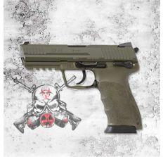 """HK45 45acp 4.46"""" OD GREEN V1 (2) 10rd mags 745001GG-A5"""