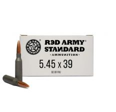 Red Army Russian Made Steel Case 5.45x39 60gr FMJ - 1000rd CASE