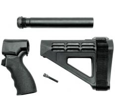 SB Tactical SBM4 Brace Complete Kit for Shotgun Fits Remington Tac-14 - Black