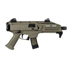 CZ SCORPION EVO 3 S1 FDE 9mm Pistol (2) 20rd mags 1/2x28 Flat Dark Earth 91352