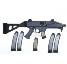 CZ Scorpion Pistol Gray with Black SB Tactical SBT EVO Side Folding Arm Brace with (2) 20rd mags & 4 PGS 32rd Mags