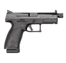 CZ P-10 Compact P-10C BLACK 9mm Pistol 4'' threaded barrel (2) 17rd mags SUPPRESSOR READY - Sale!