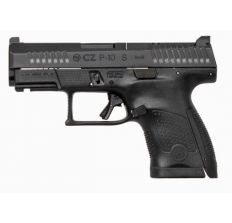 "CZ P-10 S 9MM 3.5"" BLACK NIGHT SIGHTS 12RD"