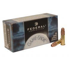 Federal .22 LR Ammunition - Federal 22LR 38gr Copper Plated Hollow Point Game-Shok 500rd
